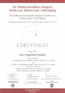 naturestetica ertyfikat medycyna estetyczna międzyrzecz